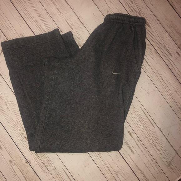 Nike Other - Nike gray sweatpants straight leg size small